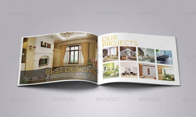 Interior Decoration Brochure Templates Word