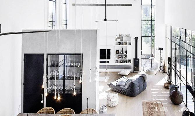 Interior Design Dreamy Loft Apartments Blew