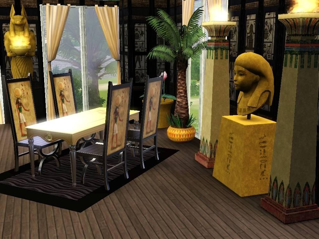 Interior Design Egypt Sims