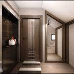 Interior Design Hall Single House Near Varna
