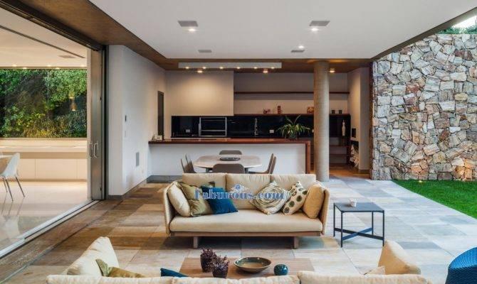 Interior Modern Open Space House Design