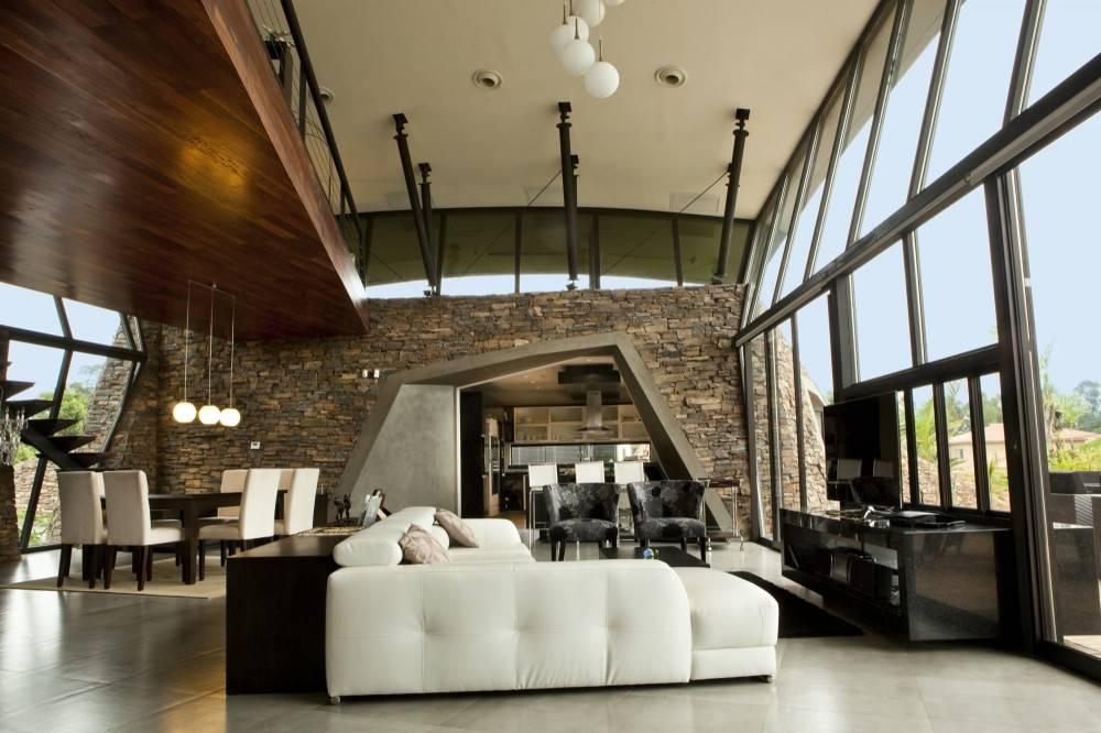 Interior Modern Pool House Garden Design Ideas
