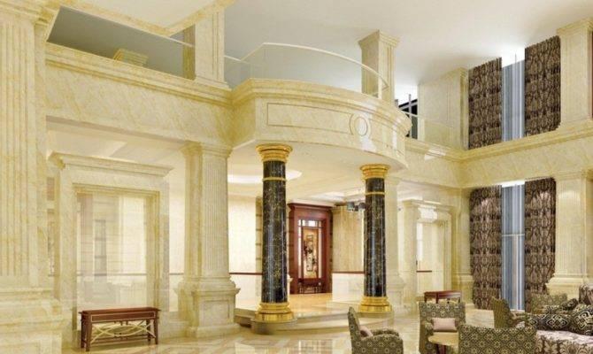 Interior Pillars Home Design
