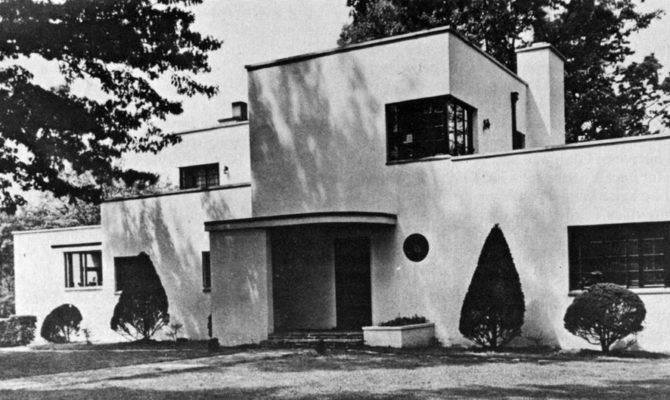 International Style House Plans Design