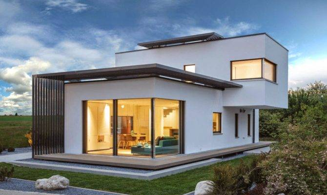 Intriguing Concept Poing House Munich Germany Home Design