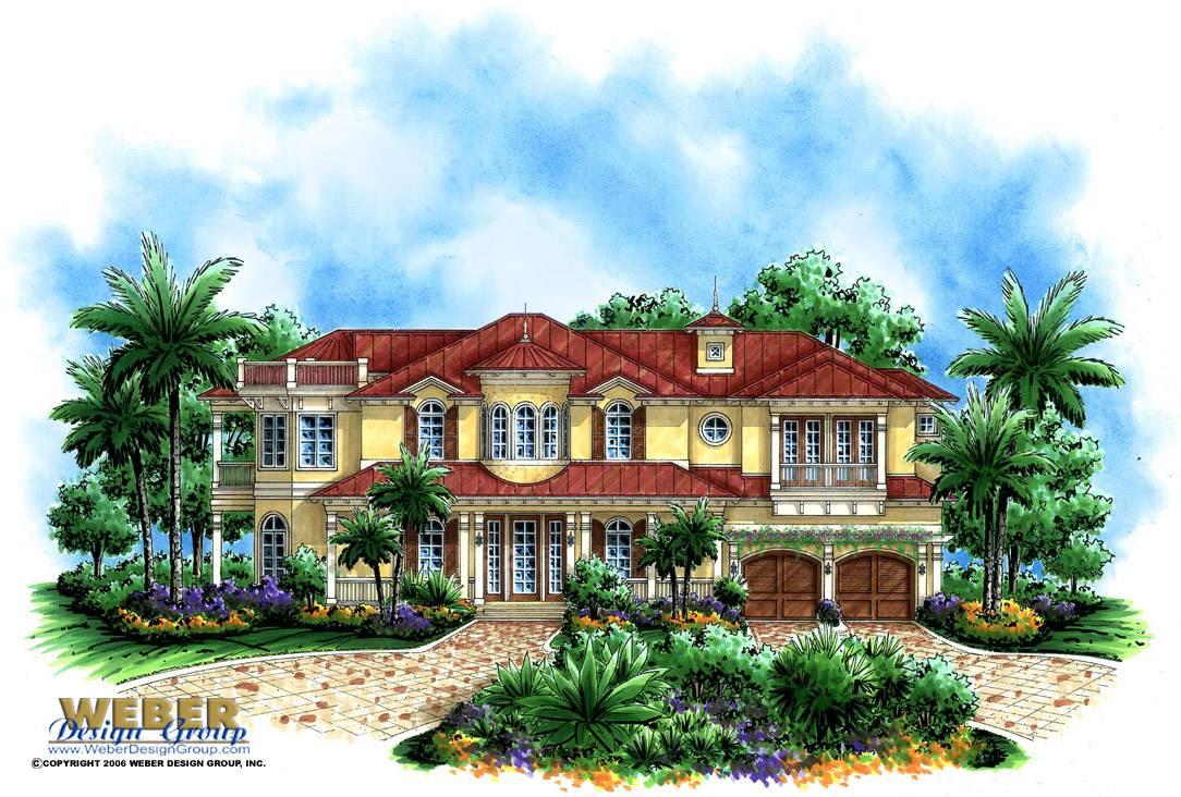Island Home Plan Breeze Weber Design Group