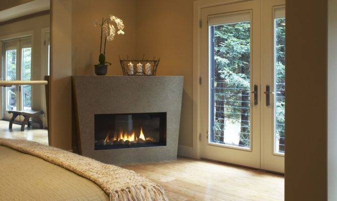 Isokern Gas Fireplace Bedroom Contemporary Wood