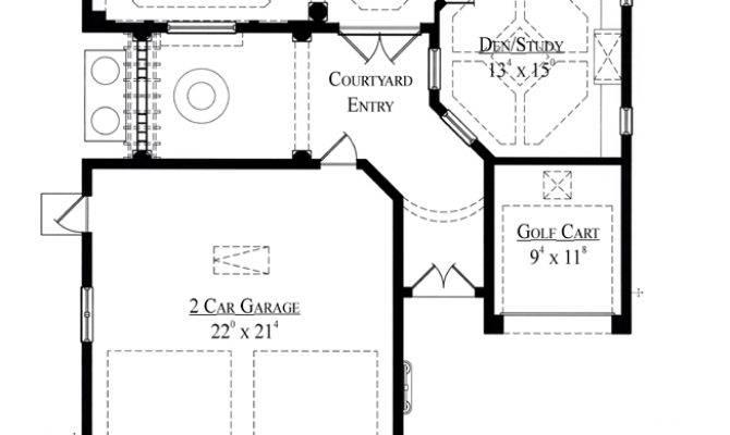 Italian House Plan Total Living Area