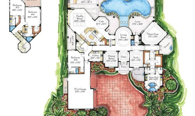 Italian Villa House Plans Home Designs