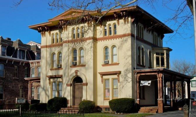 Italianate Architecture Charles Brearley House Trenton
