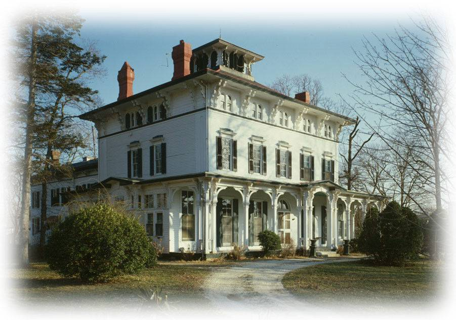 Italianate House Large Porches Romantic Architectural Floor Plans