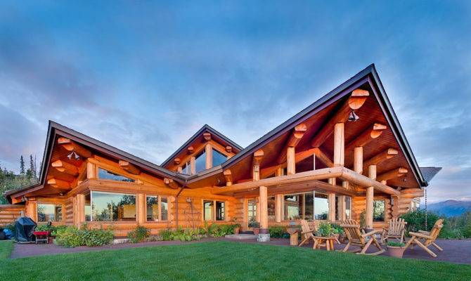 Ivy Architects Contemporary Log