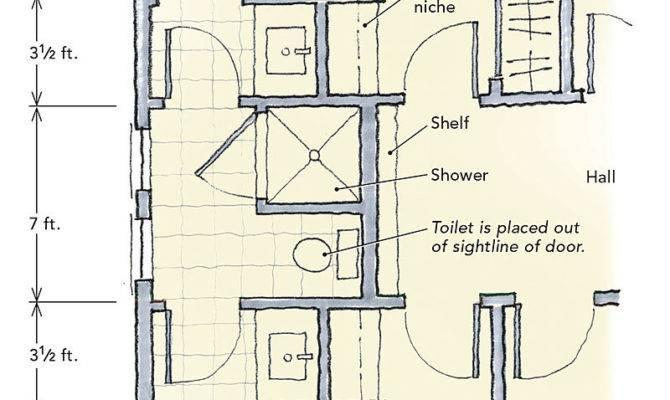 Jack Jill Bathrooms Fine Homebuilding