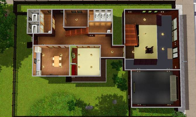 Japanese Style House Layout Design Fresh