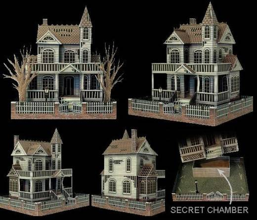 Jaw Dropping Halloween Paper Models Can Build