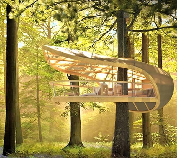 Jetson Green Innovative Sustainable Tree House Design