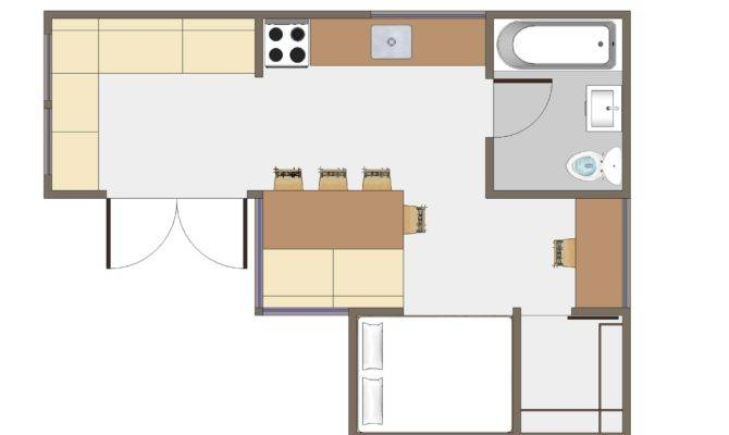 Joseph Sandy Small House Floor Plan