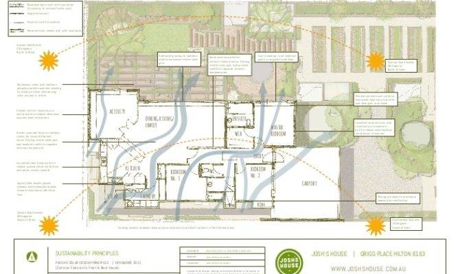 Josh House Passive Solar Design Plans