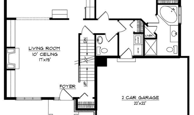 Kardelle Multi Level Home Plan House Plans