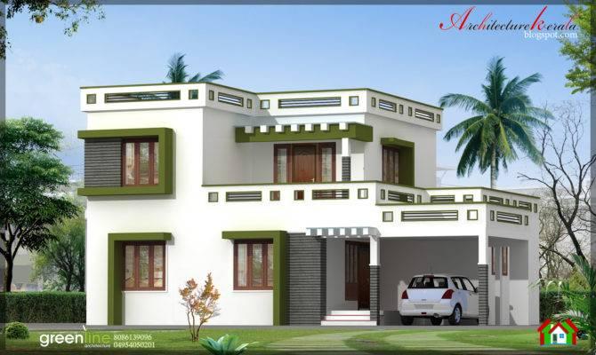 Kerala Bhk New Modern Style Home Design