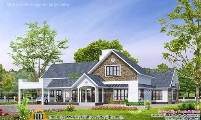 Kerala Bungalow Design Home Floor Plans