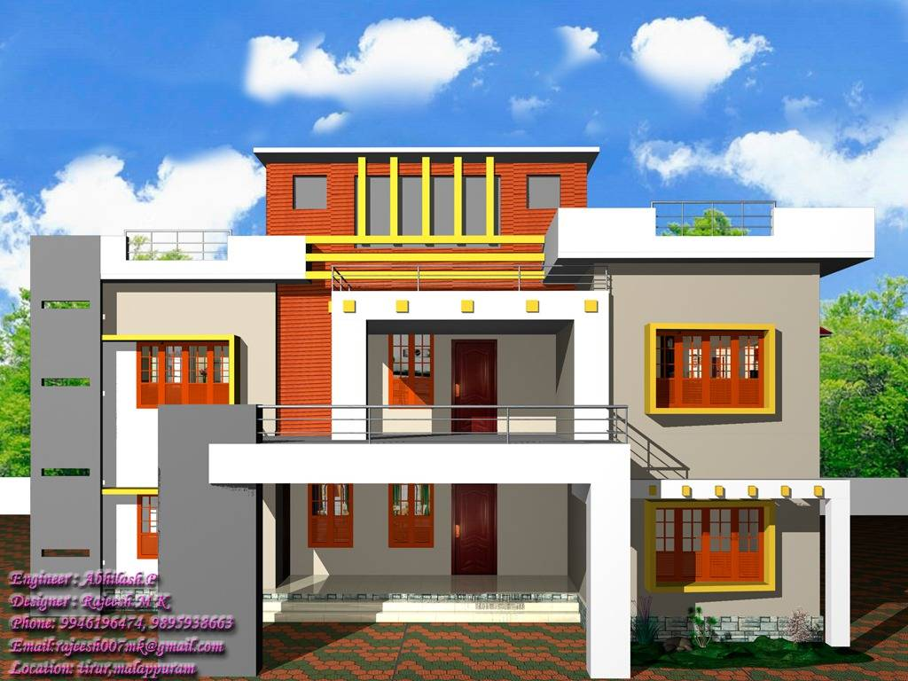 Kerala Home Design Contemporary Style