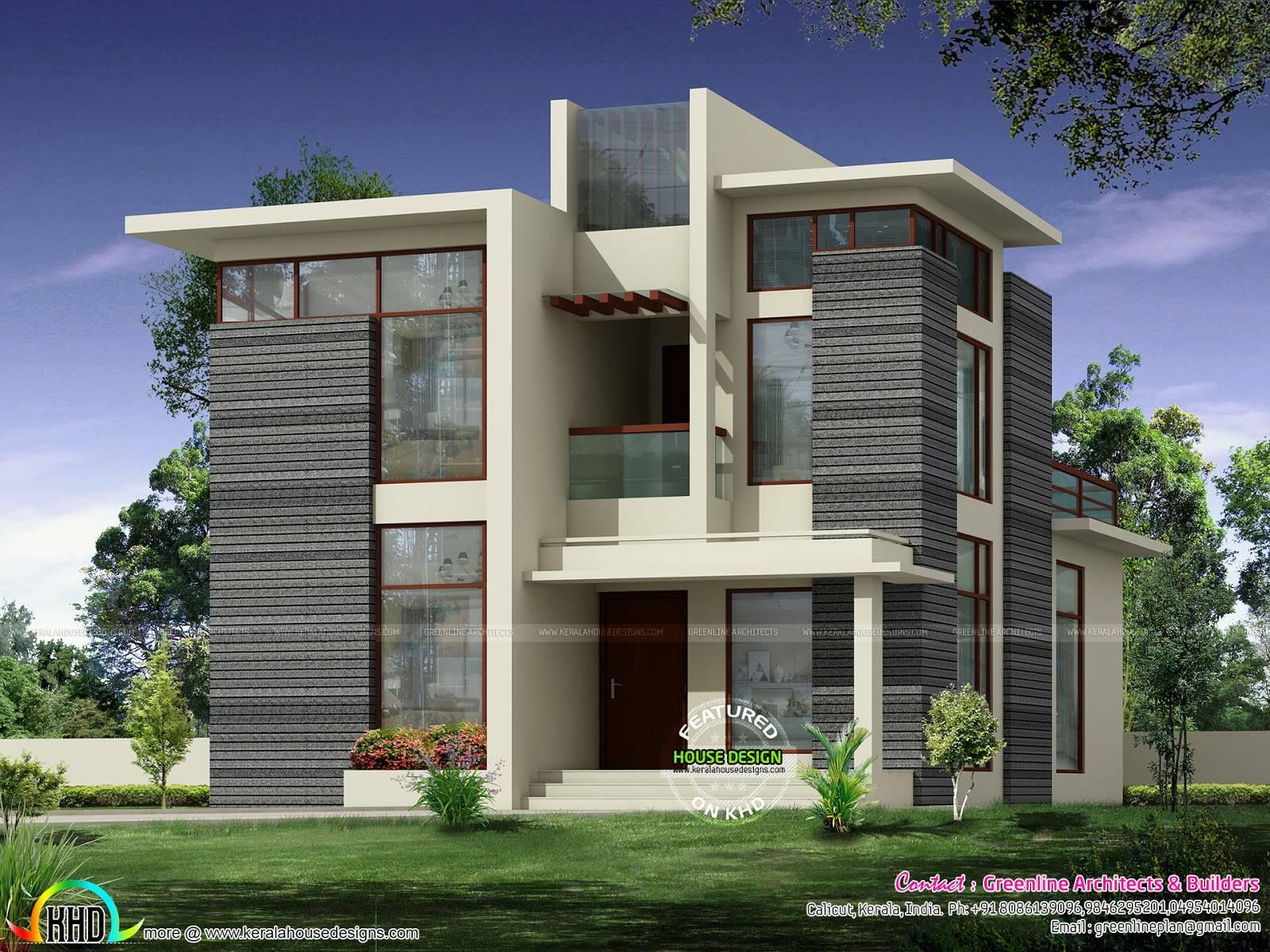 Kerala Home Design Floor Plans Modern