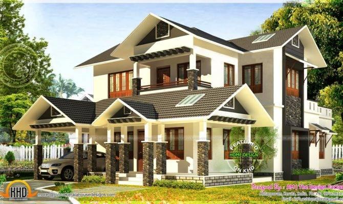 Kerala Home Design Floor Plans Square Feet