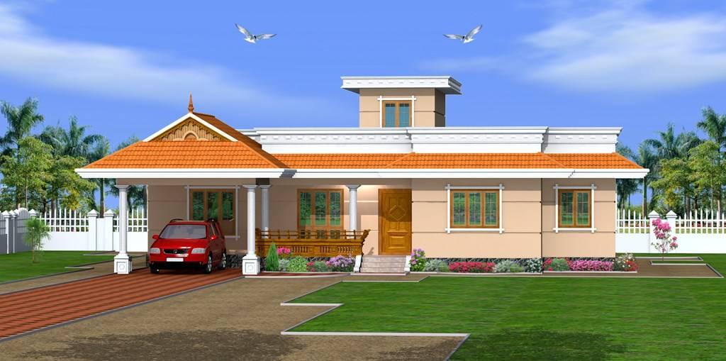 Kerala Home Design Low Cost Bedroom Single Floor