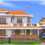 Kerala Model House Design Green Homes Thiruvalla
