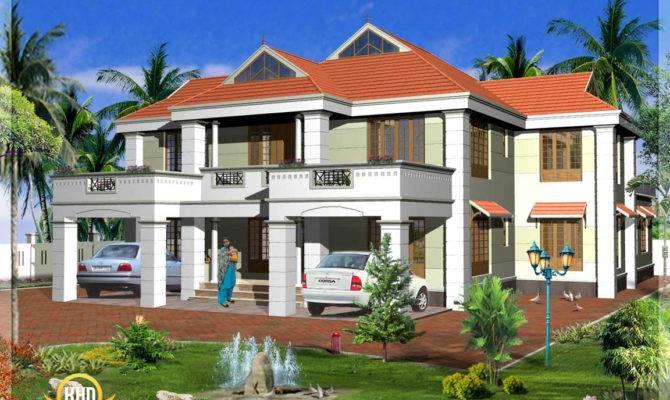 Kerala Model House Elevations Indian Plans