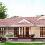 Kerala Model Single Storied Home Design Floor Plans