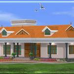 Kerala Single Story House Model Home Appliance
