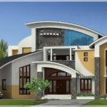 Kerala Square Feet Contemporary Style House Elevation