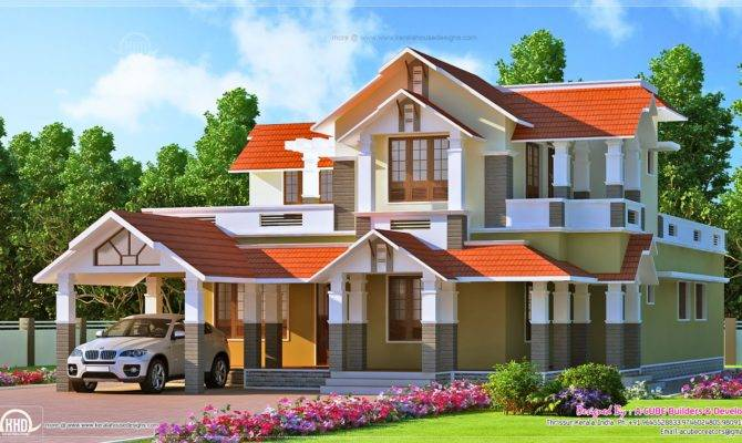 Kerala Style Dream Home Design Feet House