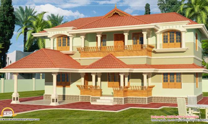 Kerala Style Story Home Design