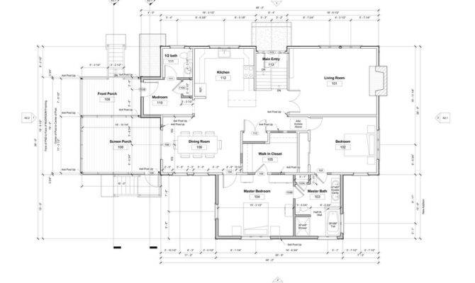 Key Drawing Types Residential Construction
