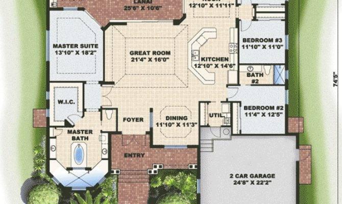 Key West Charm Floor Master Suite Cad