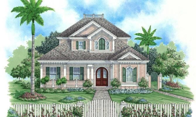 Key West House Plan Weber Design Group Naples