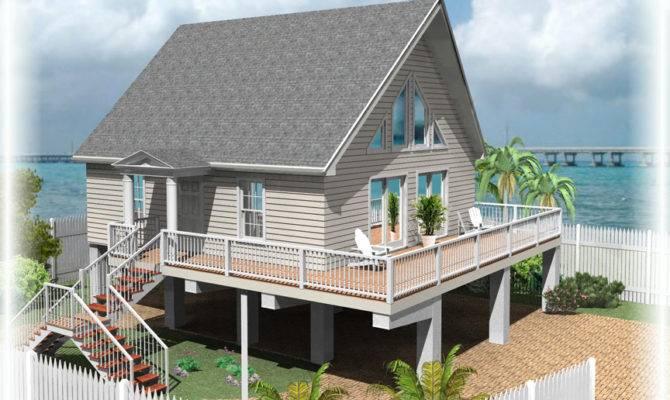 Key West Stilt Home Plans