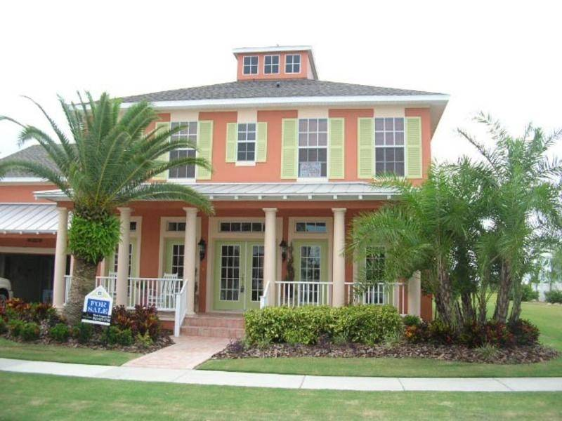 Key West Style Beach Home Plans
