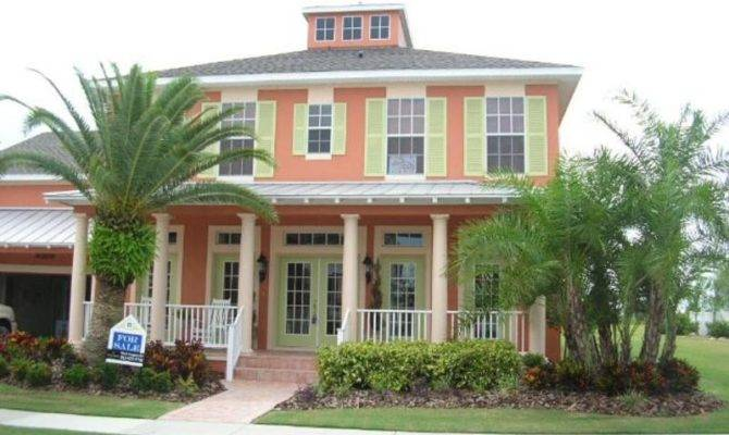 Key West Style Home Floor Plans House Design