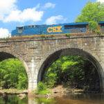 Keystone Arches Double Arch Railroad Bridge Photograph John