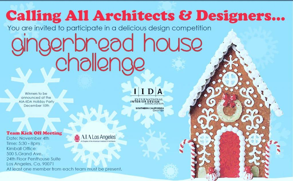 Kimball Gingerbread House Design Challenge Wolcott Architecture