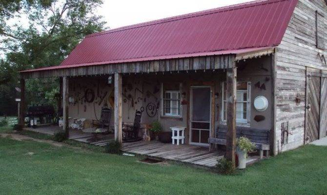 Kinda Front Porch Want Pole Barn Home Pinterest
