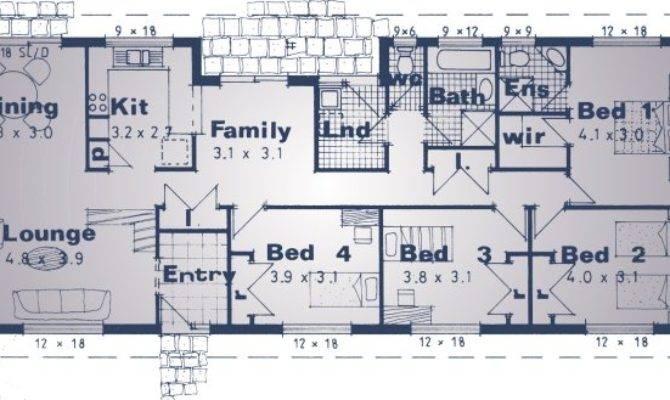 Kit Homes Floor Plans Bedroom Homestead House Design Colional
