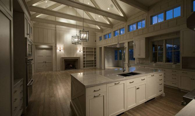 Kitchen Cathedral Ceiling Contemporary Cameo
