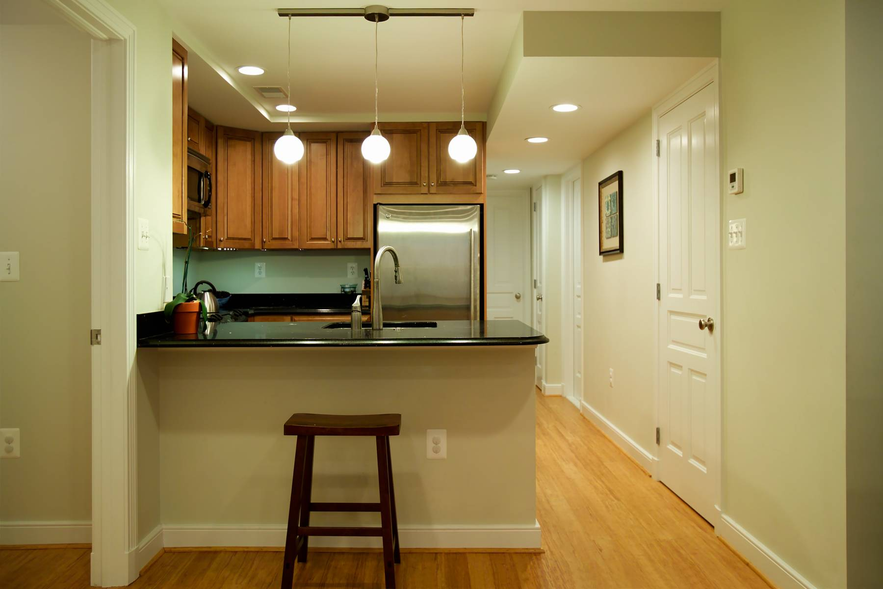 Kitchen Completed Basement Law Suite