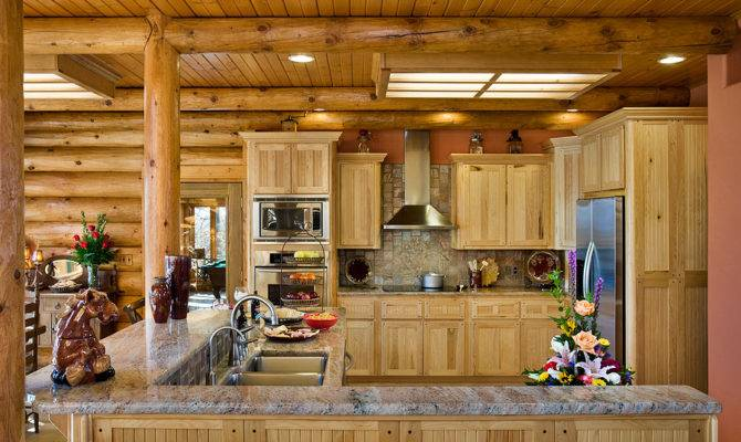 Kitchen Design Ideas Log Homes Things