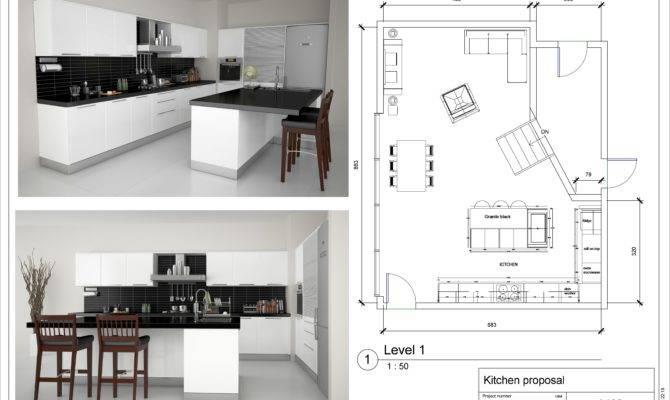 Kitchen Floor Plan Layouts Designs Home